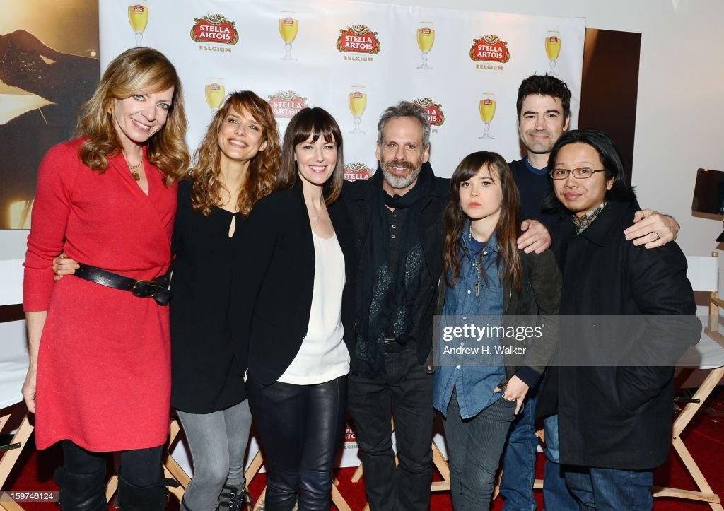 "Stella Artois Host Press Junket for Sundance Film ""Touchy Feely"" at Village at the Lift - 2013 Park City"