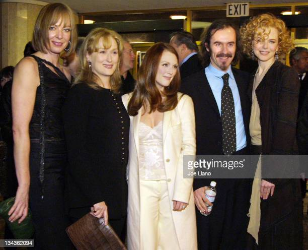 Allison Janney Meryl Streep Julianne Moore Stephen Dillane and Nicole Kidman