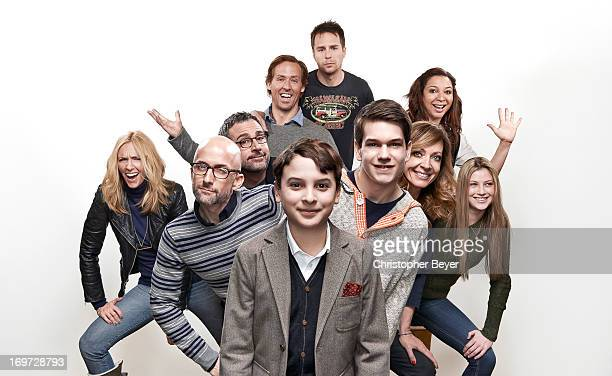 Allison Janney Sam Rockwell Steve Carell Toni Colette Maya Rudolph Jim Rash Liam James River Alexander Zoe Levin Nat Faxon are photographed for...