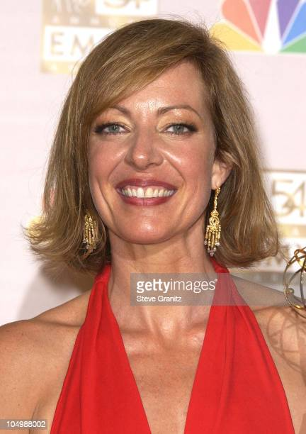 Allison Janney 'The West Wing' winner for Best Lead Actress in a Drama Series at the 54th Annual Emmy Awards