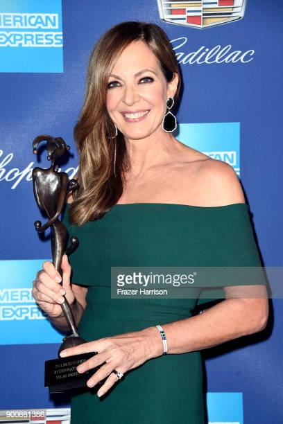 Allison Janney winner of the Spotlight Award at the 29th Annual Palm Springs International Film Festival Awards Gala at Palm Springs Convention...