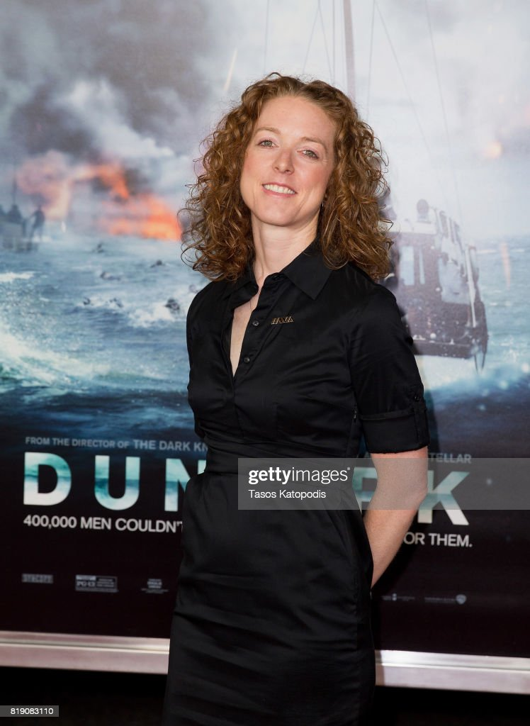 Allison Jaslow attends the red carpet premiere of 'Dunkirk' at the Smithsonian Museum on July 19, 2017 in Washington, DC.