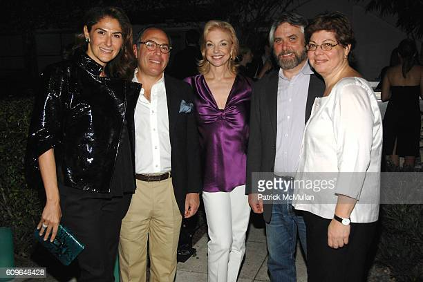 Allison Kanders Warren Kanders Joanne Leonhardt Cassullo Bob Monk and Donna De Salvo attend DAVID YURMAN and THE WHITNEY MUSEUM host 'OUT OF THE...