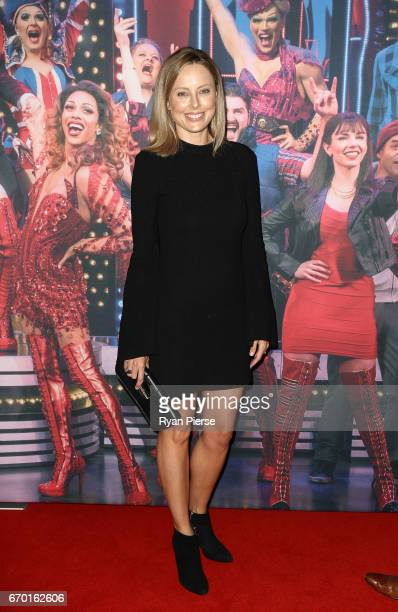 Allison Langdon arrives for the opening night of Cyndi Lauper's Kinky Boots at Capitol Theatre on April 19 2017 in Sydney Australia