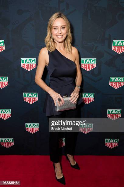 Allison Langdon attends the TAG Heuer 'Museum In Motion' Australian Launch at Museum of Contemporary Art on June 6 2018 in Sydney Australia