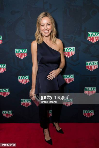 Allison Langdon attends the TAG Heuer 'Museum In Motion' Australian Launch at Museum of Contemporary Art on June 6, 2018 in Sydney, Australia.