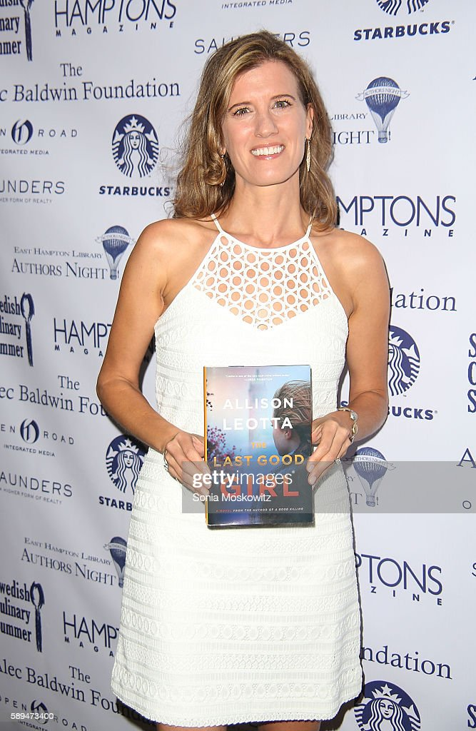 Allison Leotta attends the East Hampton Library's 12th Annual Authors Night Benefit on August 13, 2016 in East Hampton, New York.