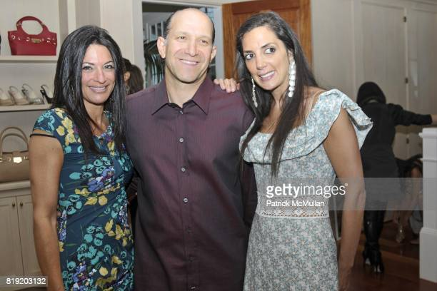 Allison Lutnick Howard Lutnick and Daniella Rich Kilstock attend Jimmy Choo and Allison Lutnick event supporting the Cantor Fitzgerald Relief Fund at...