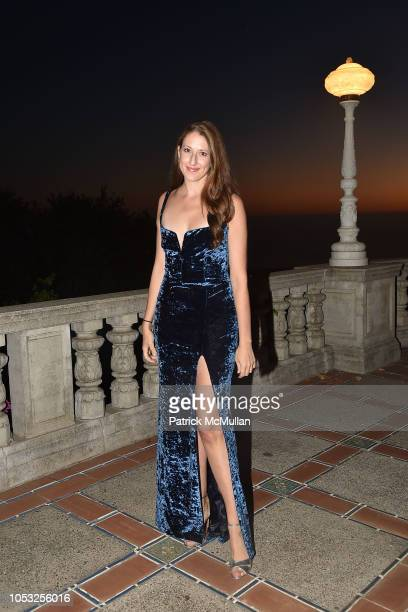 Allison Luvera attends Hearst Castle Preservation Foundation Hollywood Royalty Dinner at Hearst Castle on September 28 2018 in San Simeon CA