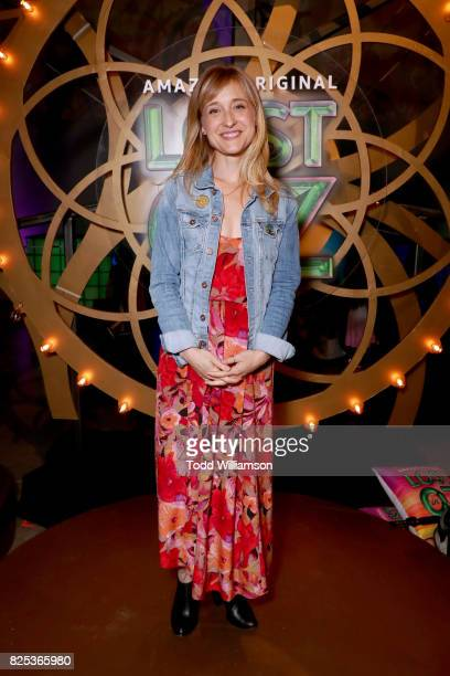 Allison Mack attends Amazon Studios' premiere for Lost In Oz at NeueHouse Los Angeles on August 1 2017 in Hollywood California