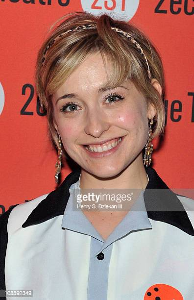 Allison Mack attends Second Stage Theatre's All Star Bowling Classic fundraier at Lucky Strike Lanes Lounge on February 7 2011 in New York City