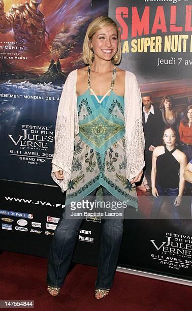 Allison Mack during 13th Jules Verne Film Festival Smallville Season IV Premiere at Rex Theatre in Paris France