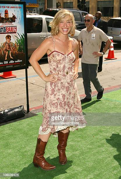 Allison Mack during 'The Ant Bully' Los Angeles Premiere Arrivals at Grauman's Chinese Theater in Hollywood California United States
