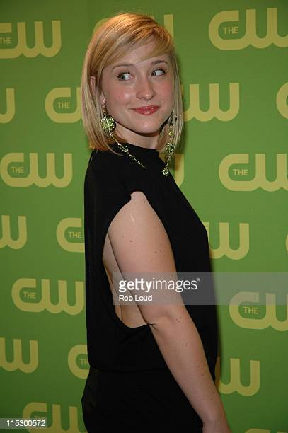 Allison Mack during The CW Upfront Red Carpet at Madison Square Garden in New York New York United States