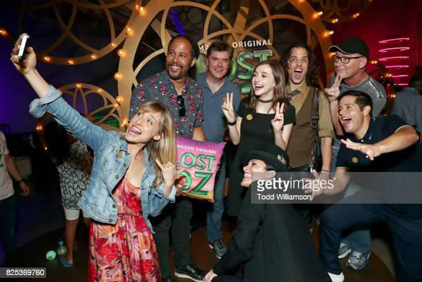 Allison Mack Keith Ferguson Chris Cox Ashley Boettcher Nika Futterman Alexander Polinsky Stephen Stanton and Jorge Diaz attend Amazon Studios'...