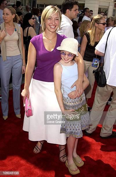 Allison Mack sister during Stuart Little 2 Premiere at Mann Village Theatre in Westwood California United States