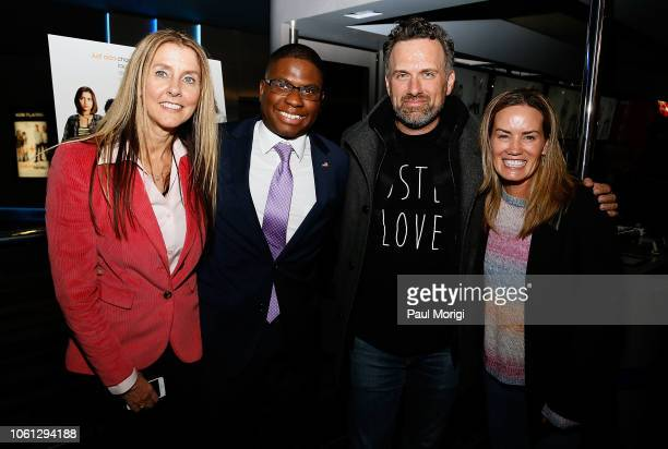 Allison Maxon Instant Family Consultant Adrian Mclemore of the Anne E Casey Foundation Writer/Director Sean Anders and Beth Anders attend a special...