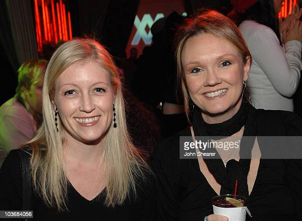 Allison Mc Manus and Sun Dee Larson attend Elridge Club Late Nights at Hollywood Life House on January 20 2009 in Park City Utah