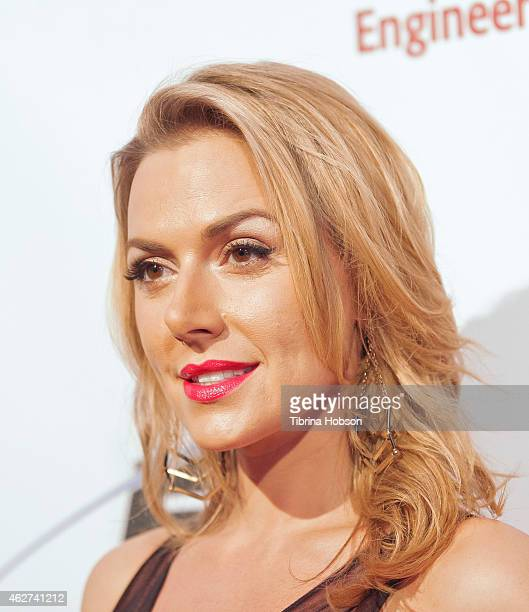 Allison McAtee attends the Recording Academy Producers Engineers Wing 8th annual GRAMMY week event Honoring Nile Rodgers at The Village recording...