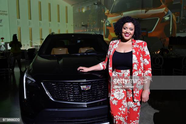 Allison McGevna attends the Cadillac Welcome Luncheon At ABFF Black Hollywood Now at The Temple House on June 13 2018 in Miami Beach Florida