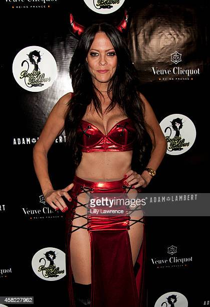 Allison Melnick arrives at Adam Lambert's 2nd Annual Halloween Bash Hosted By Adam Lambert Brian Lichtenberg And Markus Molinari at Bootsy Bellows on...