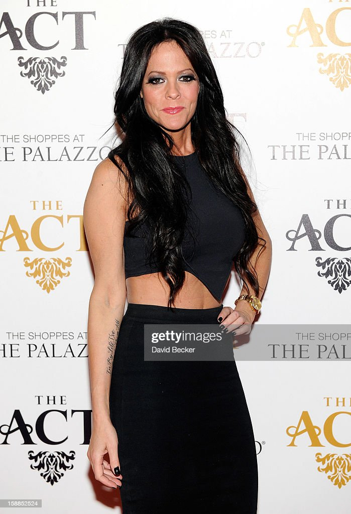 Allison Melnick arrives at the New Year's Eve celebration at The Act at The Palazzo on December 31, 2012 in Las Vegas, Nevada.