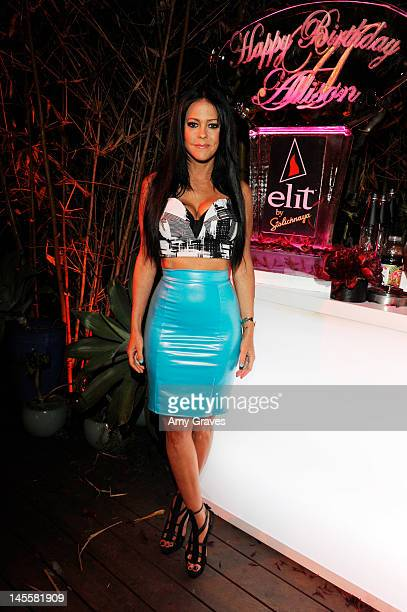 Allison Melnick attends the celebration of her Birthday hosted by elit by Stoli at Private Residence on June 1 2012 in West Hollywood California