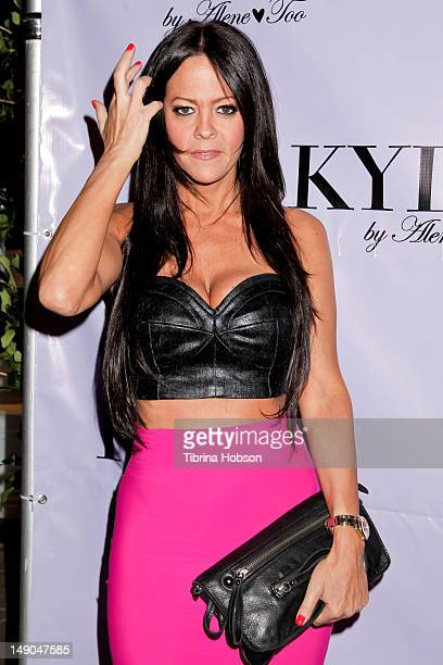 Allison Melnick attends the grand opening for Kyle Richards' new boutique 'Kyle By Alene Too' on July 21 2012 in Beverly Hills California