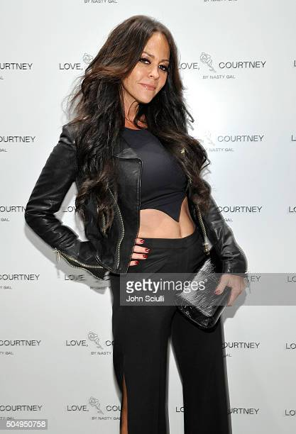 Allison Melnick attends the Love Courtney by Nasty Gal launch party at Nasty Gal on January 13 2016 in Los Angeles California