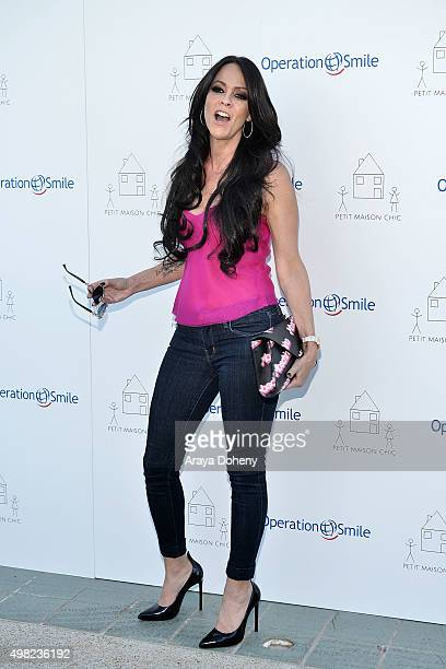 Allison Melnick attends the Petit Maison Chic and Operation Smile Kids Charity Fashion Show on November 21 2015 in Beverly Hills California