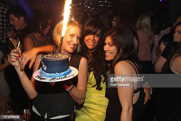Allison Melnick celebrates her birthday party at The Colony on June 9 2010 in Los Angeles California