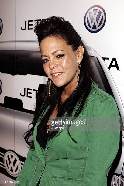 Allison Melnick during 2005 Volkswagen Jetta Premiere Party Red Carpet at The Lot in West Hollywood California United States