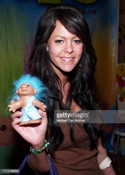 Allison Melnick during The Original Lucky Trolls at Silver Spoons Hollywood Buffet Day 1 at Private Residence in Beverly Hills California United...
