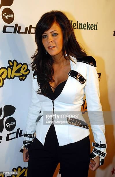 Allison Melnick of The Club during Spike TV's The Club Premiere Party at Marquee in New York City New York United States