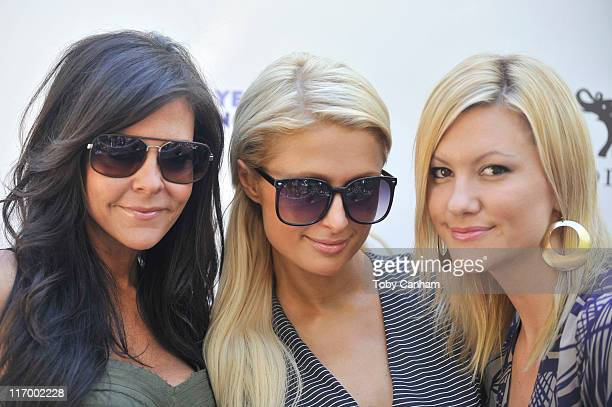 Allison Melnick Paris Hilton and Jennifer Rovero arrive for the Goodbye cellulite hello bikini poolside party held at The NIVEA and Shay Todd Summer...