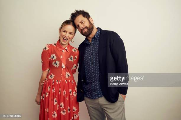 Allison Miller and James Roday of ABC's 'A Million Little Things' pose for a portrait during the 2018 Summer Television Critics Association Press...