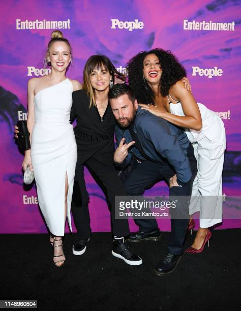 Allison Miller Stephanie Szostak James Roday and Christina Moses of A Million Little Things attends the Entertainment Weekly PEOPLE New York Upfronts...