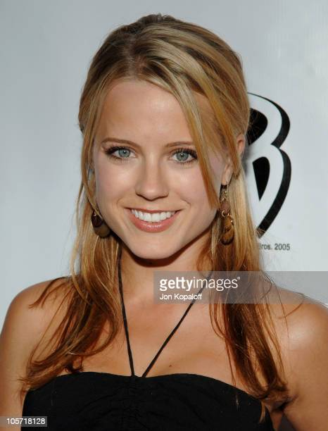 Allison Munn during 2005 WB Network's All Star Celebration Arrivals at The Cabana Club in Hollywood California United States