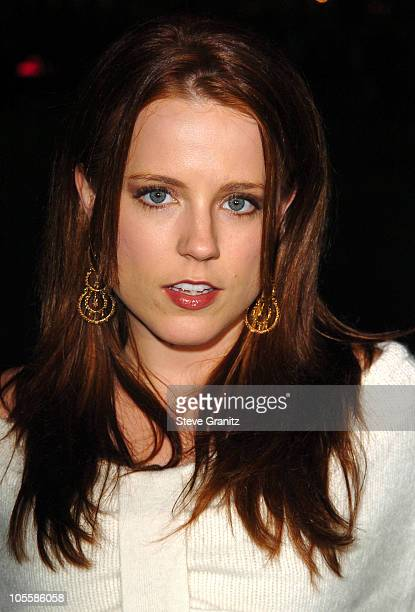 Allison Munn during A Love Song for Bobby Long Los Angeles Premiere Arrivals at Mann Bruin Theatre in Westwood California United States