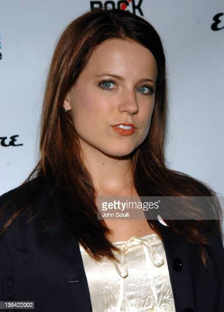 Allison Munn during Esquire House Hosts Young Hollywood Rock The Vote Party Arrivals at The Esquire House Los Angeles in Beverly Hills California...