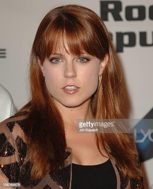 Allison Munn during Rock Republic Love Rocks Fashion Show Spring 2006 at Sony Studios in Culver City California United States