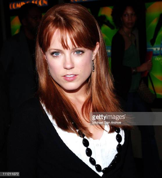 Allison Munn during Roll Bounce Los Angeles Premiere at The Bridge at Howard Hughes Center in Los Angeles CA United States