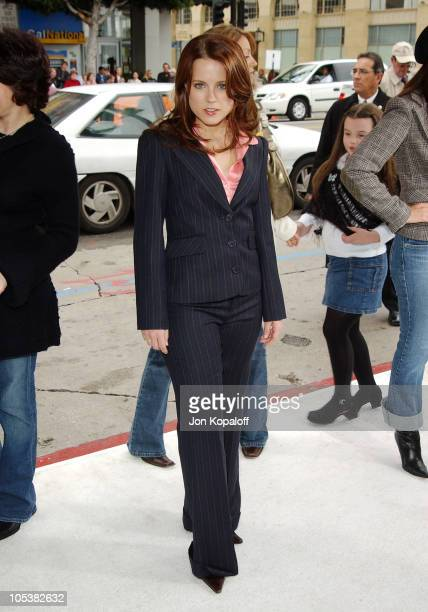 Allison Munn during 'The Polar Express' Los Angeles Premiere Arrivals at Grauman's Chinese in Hollywood California United States