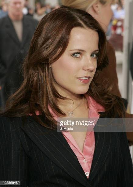 Allison Munn during The Polar Express Los Angeles Premiere Arrivals at Grauman's Chinese in Hollywood California United States