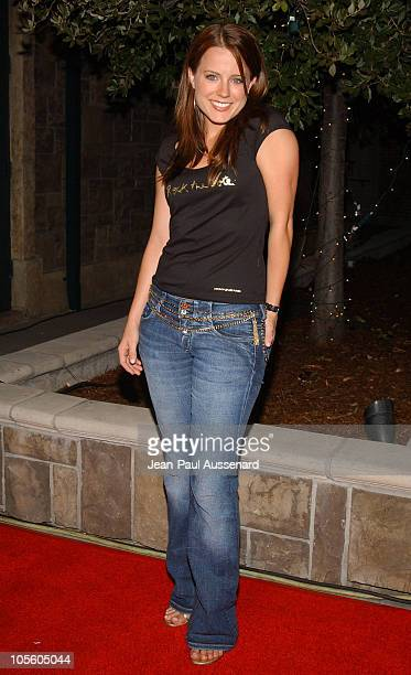 Allison Munn during The WB Network's 'Jack and Bobby' Rock the Vote Party Arrivals at Warner Bros Studios in Burbank California United States