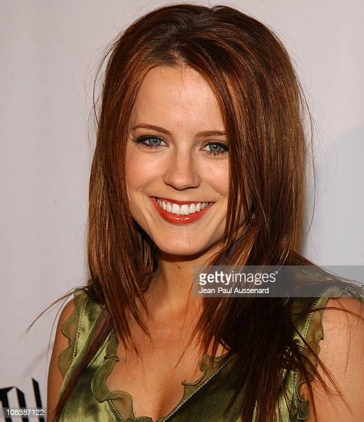 Allison Munn during The WB Television Network's 2005 All Star Party Arrivals at Warner Bros Studio in Burbank California United States