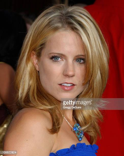 Allison Munn during War of the Worlds Los Angeles Fan Screening Arrivals in Los Angeles California United States