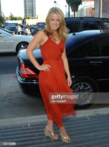 Allison Munn during 'Wicked' Los Angeles Opening Night Arrivals at Pantages Theatre in Hollywood California United States