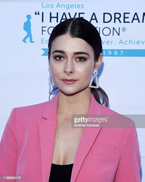 Allison Paige arrives at the 6th Annual I Have A Dream Foundation Los Angeles Dreamer Dinner Benefit at the Skirball Cultural Center on March 31 2019...