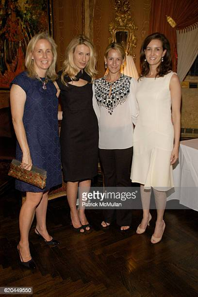 Allison Pappas Claudia Overstrom Lisa Errico and Alexia Hamm Ryan attend Christie's Hosts Kickoff for The Society of Memorial Sloan Kettering Cancer...